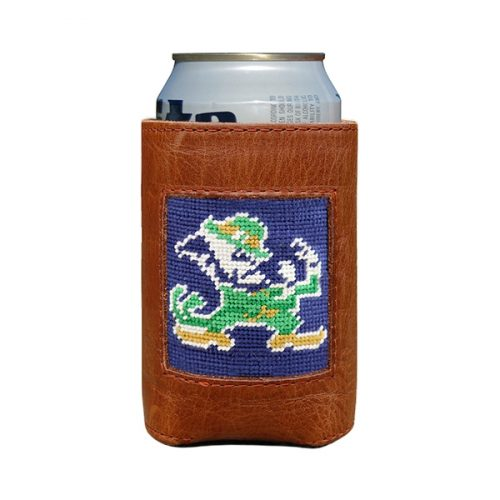 smathers-branson-notre-dame-leprechaun-needlepoint-can-cooler Available online or in store at assembly88 men's shop in Allentown, PA