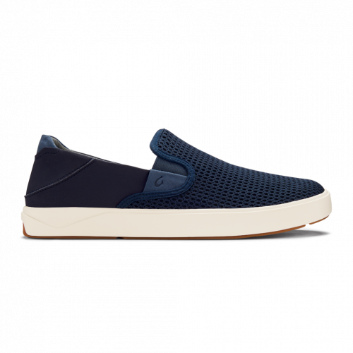 olukai-laeahi-blue-depth-men's-slip-on Available online or in store at assembly88 men's shop in Allentown, PA