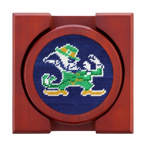 smathers-branson-notre-dame-needlepoint-coaster-set Available online or in store at assembly88 men's shop in Allentown, PA