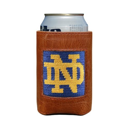 smathers-branson-notre-dame-nd-needlepoint-can-cooler Available online or in store at assembly88 men's shop in Allentown, PA