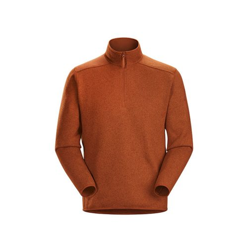 arcteryx-covert-1-2-zip-neck-komorebi-heather Available online or in store at assembly88 men's shop in Allentown, PA