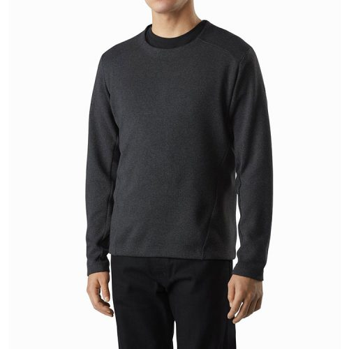 arcteryx-Covert-LT-Pullover-Moonshadow-Heather Available online or in store at assembly88 men's shop in Allentown, PA