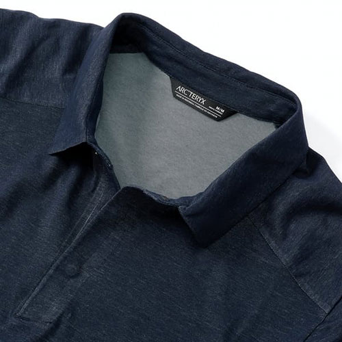 arcteryx-eris-polo-cobalt-moon-men's-polo Available online or in store at assembly88 men's shop in Allentown, PA