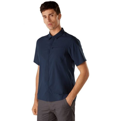 arcteryx-skyline-shirt-ss-cobalt-moon Available online or in store at assembly88 men's shop in Allentown, PA