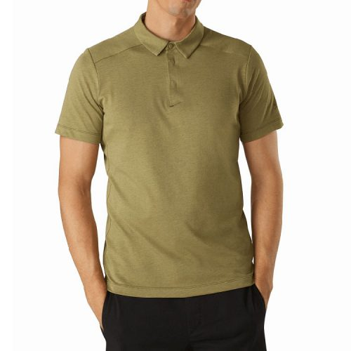 arcteryx-eris-polo-shirt-subliminal-men's-polo Available online or in store at assembly88 men's shop in Allentown, PA