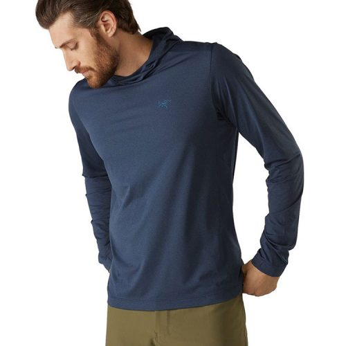 arcteryx-remige-hoody-cobalt-moon-men's-hoody Available online or in store at assembly88 men's shop in Allentown, PA