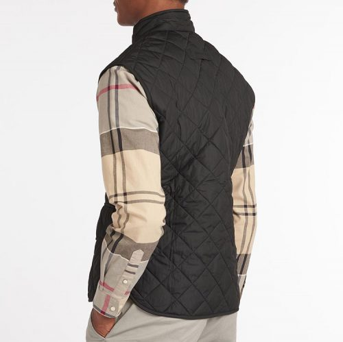 barbour-lowerdale-gilet-black Available online or in store at assembly88 men's shop located in Allentown, PA