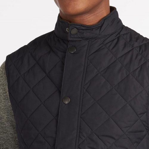 barbour-lowerdale-gilet-navy Available online or in store at assembly88 men's shop located in Allentown, PA