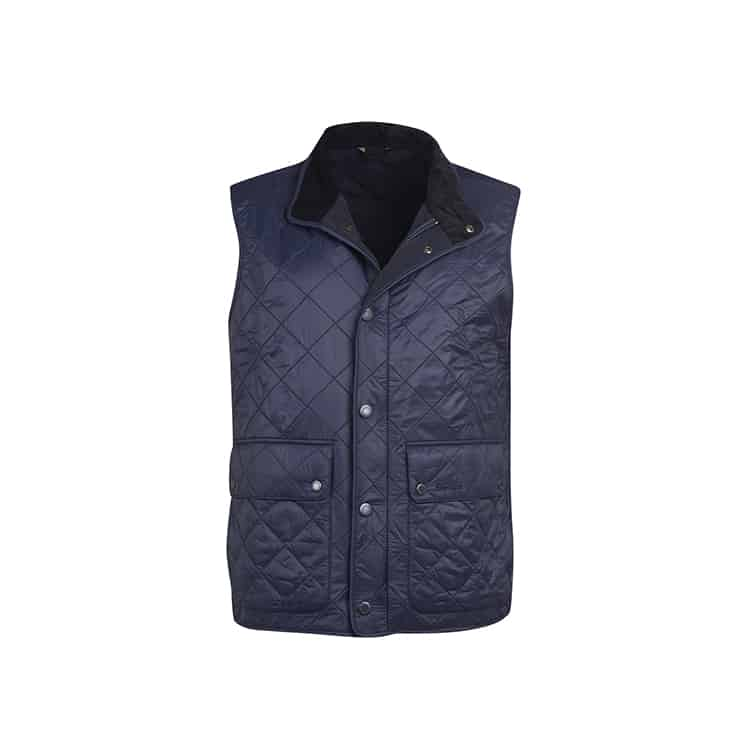 Barbour Rosemount Polar Fleece Gilet Navy