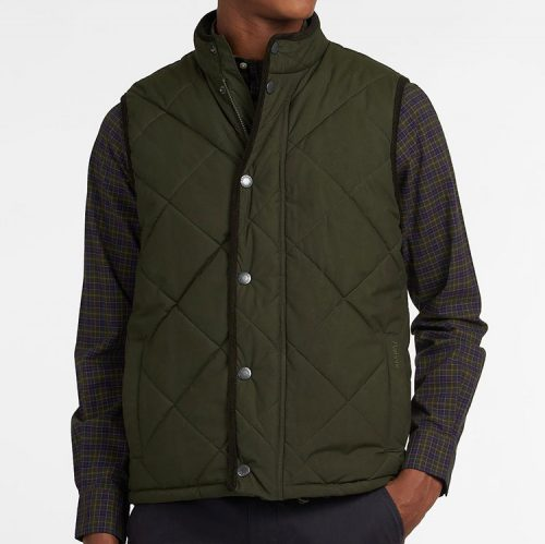 barbour-harley-gilet-sage-mens-barbour Available online or in store at assembly88 men's shop located in Allentown, PA