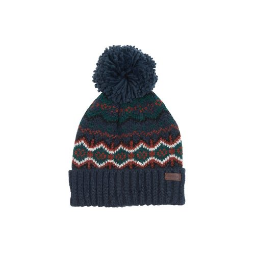barbour-case-fair-isle-beanie-navy Available online or in store at assembly88 men's shop located in Allentown, PA
