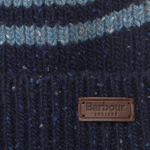 barbour-radar-stripe-beanie-navy-blue Available online or in store at assembly88 men's shop in Allentown, PA