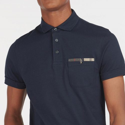 barbour-corpatch-polo-shirt-navy-men's-polo Available online or in store at assembly88 men's shop in Allentown, PA