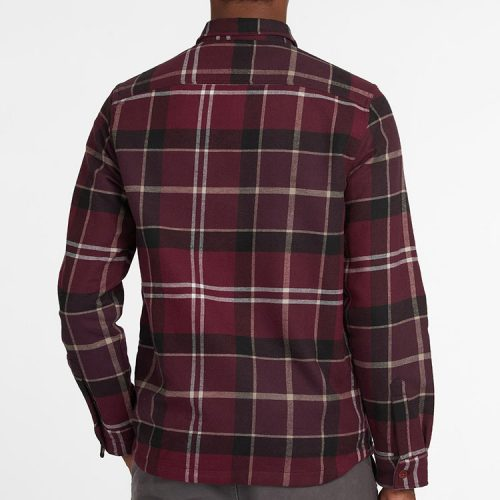 barbour-cannich-overshirt-winter-red-tartan Available online or in store at assembly88 men's shop in Allentown, PA
