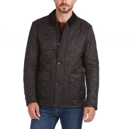 Barbour Denill Polar Fleece Jacket Black