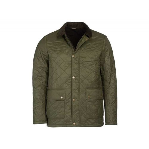 Barbour Denill Polar Fleece Jacket Olive