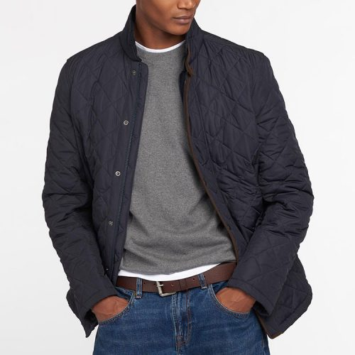 barbour-levisham-quilted-jacket-navy Available online or in store at assembly88 men's shop located in Alletown, PA