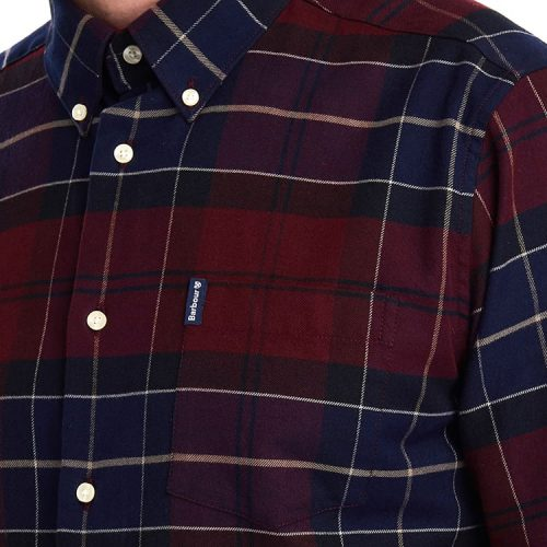 Barbour Lustleigh Shirt Merlot