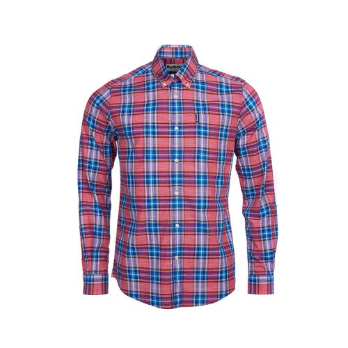 barbour-highland-check-26-tailored-shirt-red Available online or in store at assembly88 men's shop in Allentown, PA