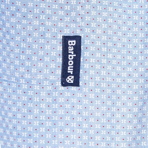 barbour-print-9-short-sleeved-summer-shirt-chambray Available online or in store at assembly88 men's shop in Allentown, PA