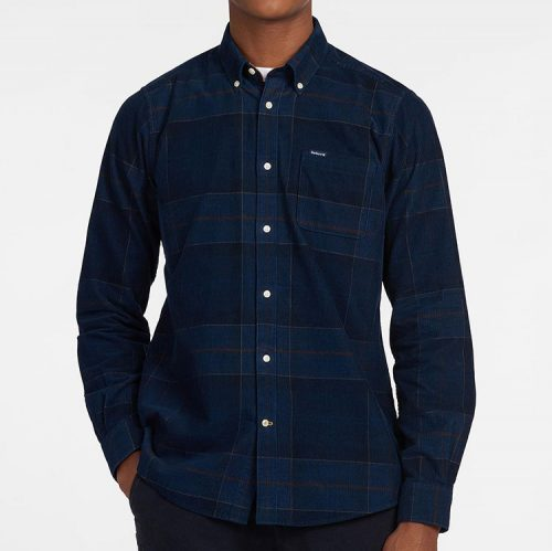 barbour-blair-tailored-shirt-midnight-tartan Available online or in store at assembly88 men's shop in Allentown, PA