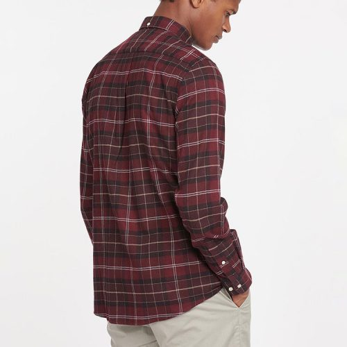 barbour-kyeloch-tailored-shirt-winter-red-tartan Available online or in store at assembly88 men's shop in Allentown, PA