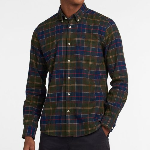 barbour-kyeloch-tailored-shirt-classic-tartan Available online or in store at assembly88 men's shop in Allentown, PA