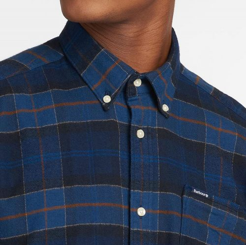barbour-kyeloch-tailored-shirt-midnight-tartan Available online or in store at assembly88 men's shop in Allentown, PA