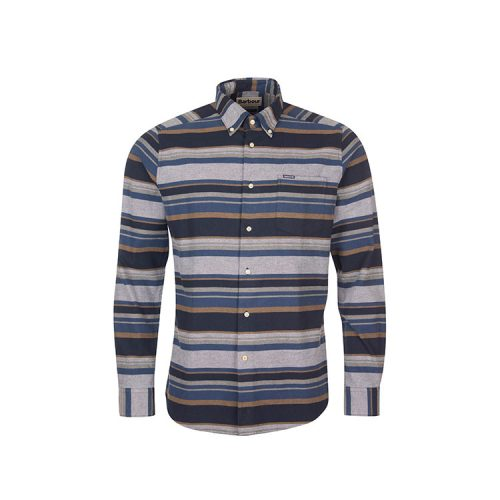 barbour-cornhill-tailored-fit-stripe-button-down-shirt-midnight-navy Available online or in store at assembly88 men's shop in Allentown, PA