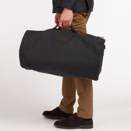 barbour-wax-holdall-navy Available online or in store at assembly88 men's shop located in Allentown, Pennsylvania