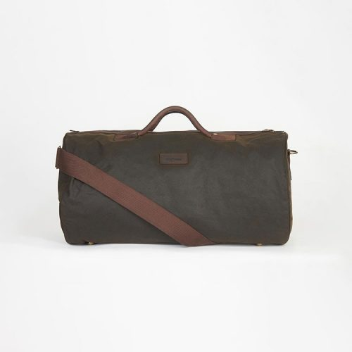 barbour-wax-holdall-olive Available online or in store at assembly88 men's shop located in Allentown, Pennsylvania