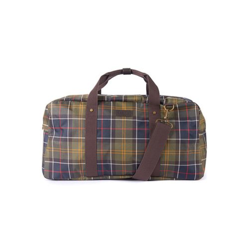 barbour-torridon-tartan-holdall-bag-classic-tartan Available online or in store at assembly88 men's shop in Allentown, PA