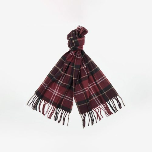 barbour-galingale-tartan-scarf-winter-red Available online or in store at assembly88 men's shop in Allentown, PA