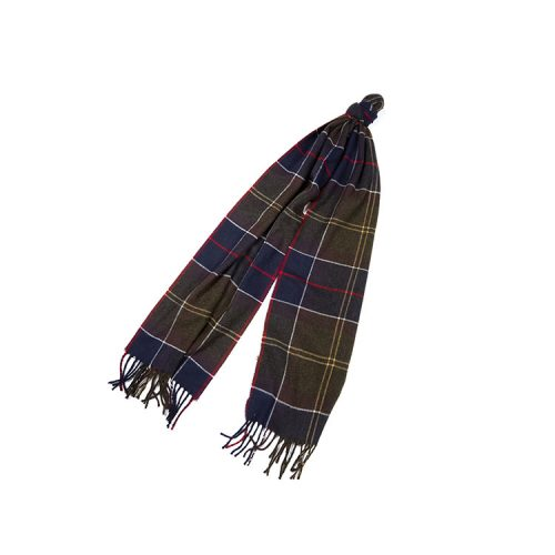 barbour-galingale-tartan-scarf-classic-tartan Available online or in store at assembly88 men's shop in Allentown, PA