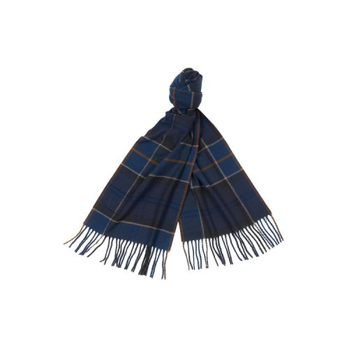 barbour-galingale-tartan-scarf-midnight-tartan Available online or in store at assembly88 men's shop in Allentown, PA