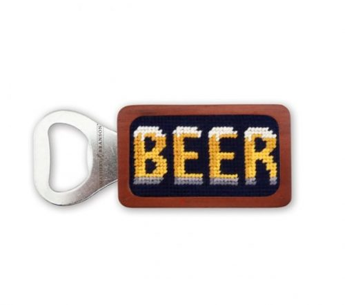 smathers-branson-beer-needlepoint-bottle-opener Available online or in store at assembly88 men's shop in Allentown, PA