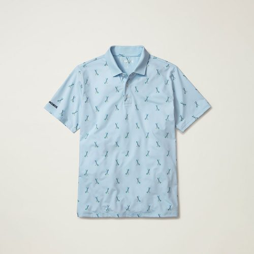 bonobos-justin-rose-performance-polo-light-blue-golf-clubs Available online or in store at assembly88 men's shop in Allentown, PA