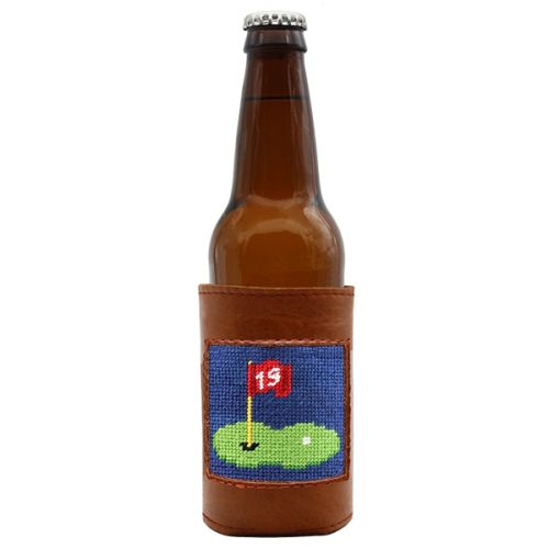 smathers-branson-19th-hole-needlepoint-bottle-cooler Available online or in store at assembly88 men's shop in Allentown, PA