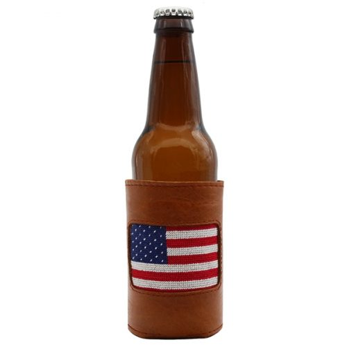 smathers-branson-american-flag-needlepoint-bottle-cooler Available online or in store at assembly88 men's shop in Allentown, PA
