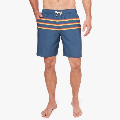 fair-harbor-the-anchor-rainbow-three-stripe-anchor Available online or in store at assembly88 men's shop in Allentown, PA