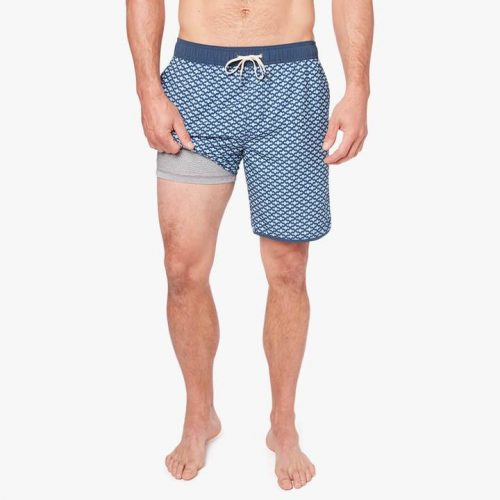 fair-harbor-the-anchor-mist-seaview-men's-swim-trunk Available online or in store at assembly88 men's shop in Allentown, PA