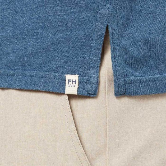 fair-harbor-atlantic-polo-dark-denim-atlantic Available online or in store at assembly88 men's shop in Allentown, PA