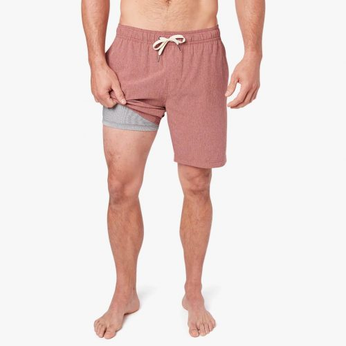 fair-harbor-the-one-short-amber-men's-swim Available online or in store at assembly88 men's shop in Allentown, PA