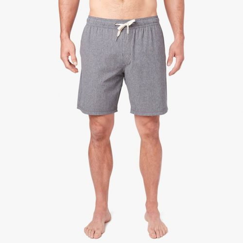 fair-harbor-the-one-short-grey-men's-shorts Available online or in store at assembly88 men's shop in Allentown, PA
