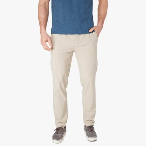 fair-harbor-the-one-pant-khaki-men's-pants Available online or in store at assembly88 men's shop in Allentown, PA