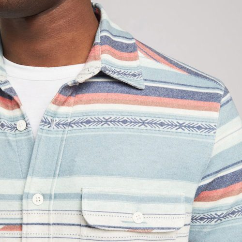 faherty-legend-sweater-shirt-sierra-paradise Available online or in store at assembly88 men's shop in Allentown, PA