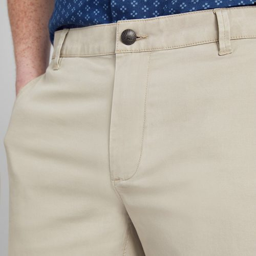 faherty-island-life-short-faded-khaki Available online or in store at assembly88 men's shop in Allentown, PA