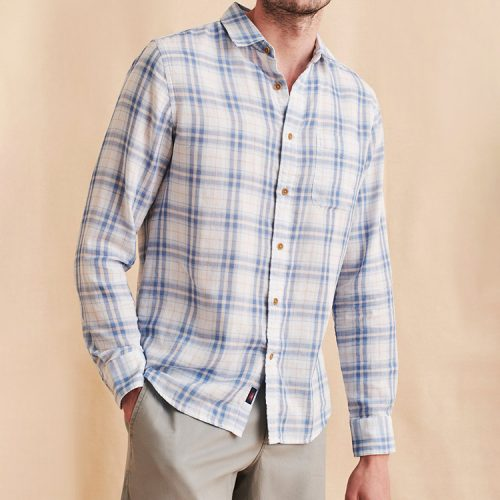faherty-the-chill-doublecloth-shirt-beach-house-plaid Available online or in store at assembly88 men's shop in Allentown, PA