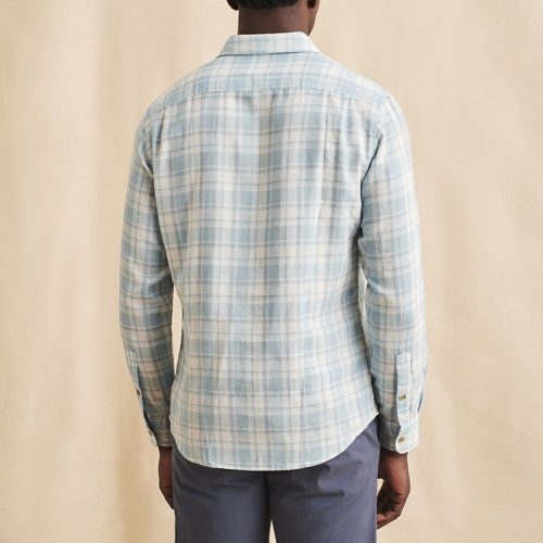 faherty-the-chill-doublecloth-shirt-dana-point-plaid Available online or in store at assembly88 men's shop in Allentown, PA