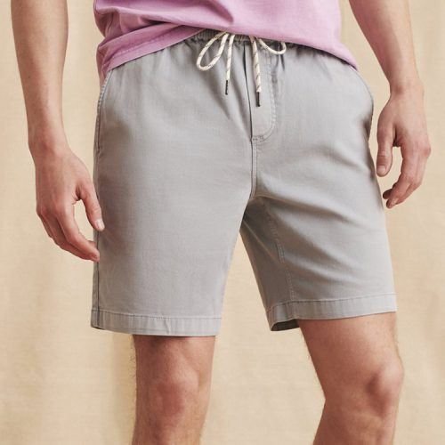 faherty-essential-short-rocky-grey-mens-shorts Available online or in store at assembly88 men's shop in Allentown, PA